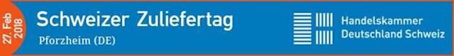 Logo Schweizer Zuliefertag Handelskammer Deutschland Schweiz